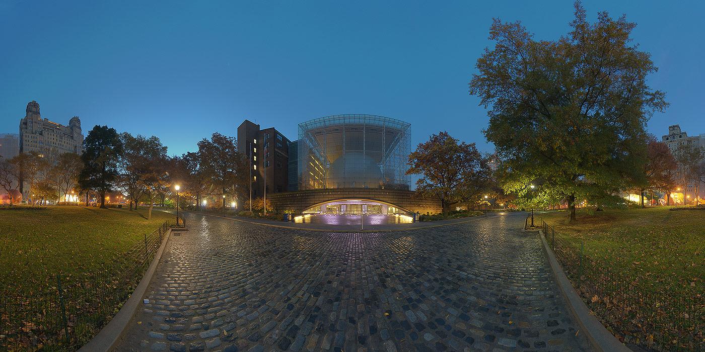 Hayden Planetarium » New York Panorama