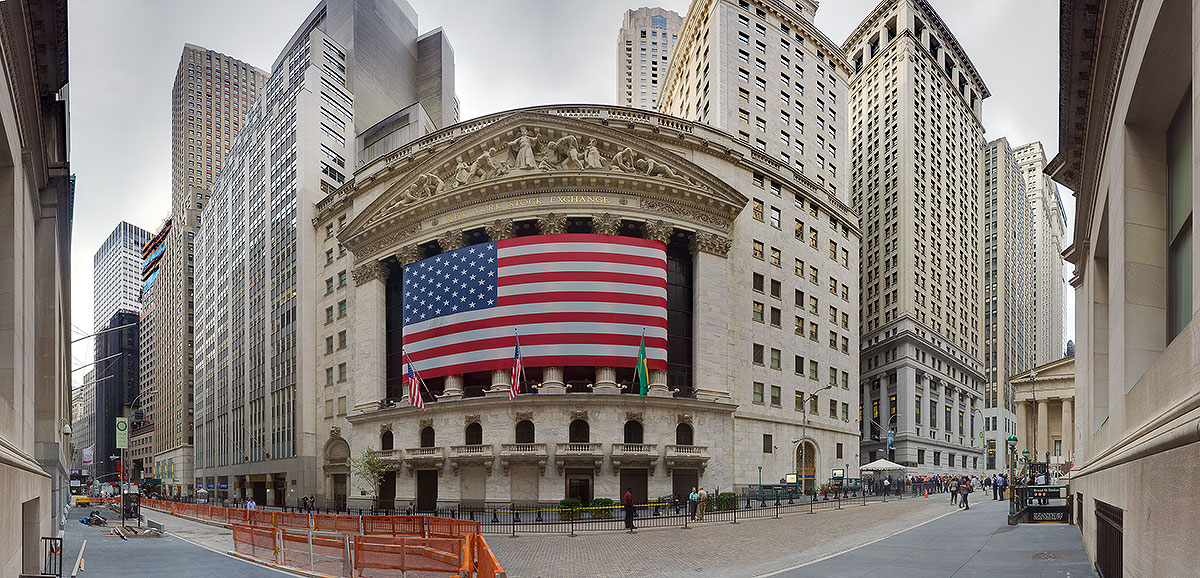 stock exchange wall street. Wall Street – New York Stock