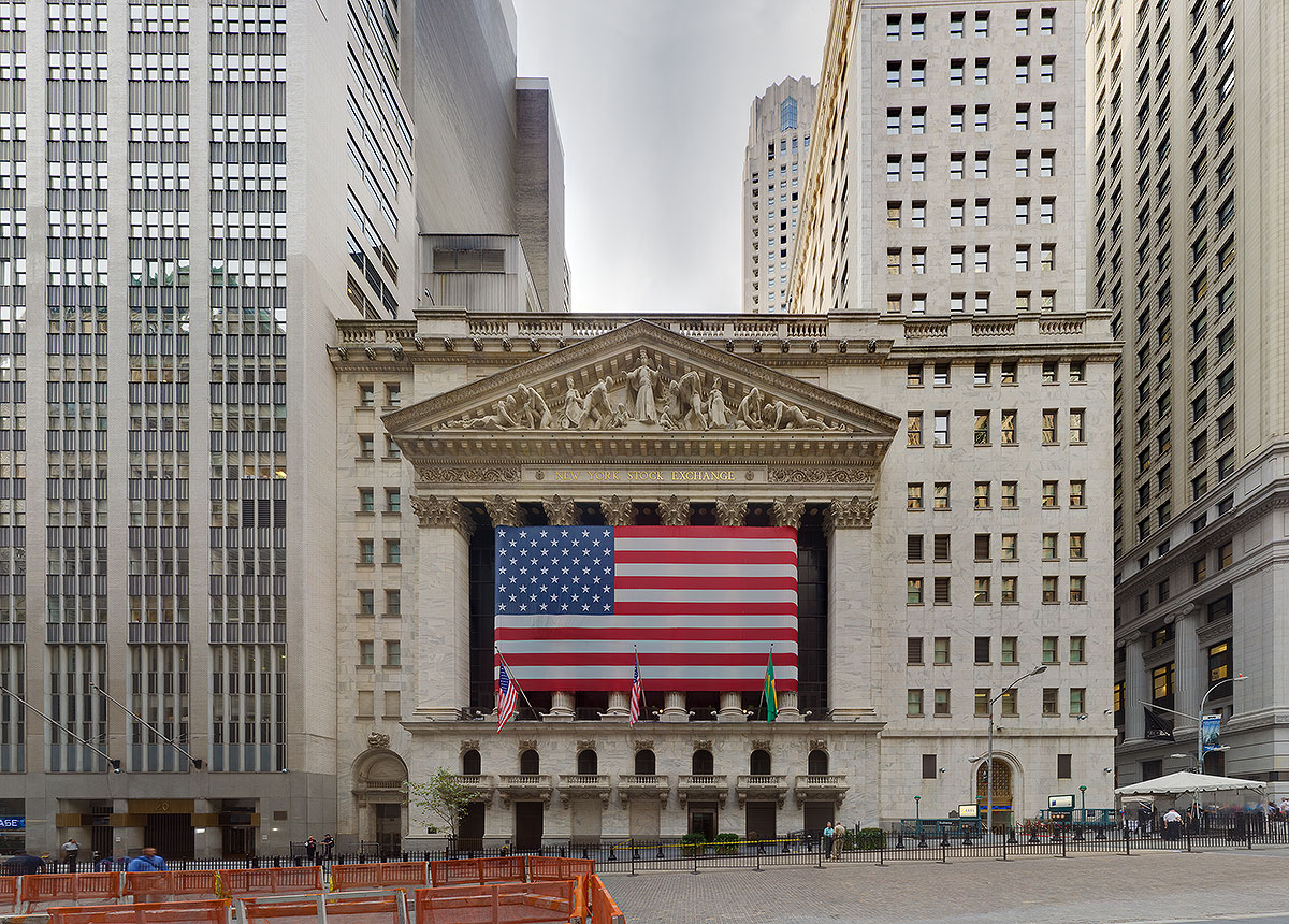 Wall Street – New York Stock Exchange (NYSE) » New York Panorama