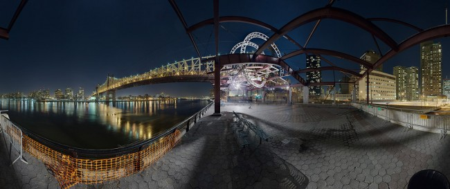 East River Park, c-print, 96x40in, 242x102cm, edition of 6
